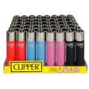 CLIPPER Feuerzeug  Soft Touch  Gummiert mix ...