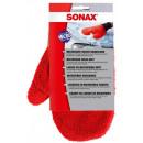 SONAX hochwertiger Microfaser Qualitäts Waschhand