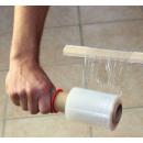 Abroller SET für Mini Stretchfolie Handabroller u