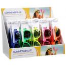 Großhandel Sonnenbrillen: Sonnenbrille -Neon -verspiegelten ...