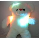 Plüsch Bär mit LED Licht Rot Bestickete Pfoten c