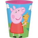 grossiste Articles sous Licence: Peppa Pig - valeur  de gobelet en plastique Peppa P