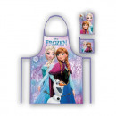 Set FROZEN¬  Children kitchen apron and glove