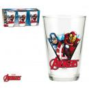 grossiste Lunettes: SET 3 LUNETTES 23,7CL Avengers