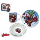 groothandel Overigen: ONTBIJT SET 3PCS Avengers