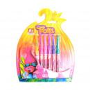 grossiste Stylos et crayons: TROLLS - stylos  Septembre 6 gel Trolls