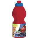 Plastic sport water bottle 400ml bottle of Cars &a