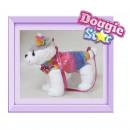 25cm peluche Husky Placket Rainbow Star Doggie