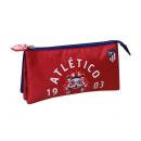 mayorista Artículos con licencia: Portatodo triple  de Atlético De Madrid (2/100)