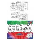 grossiste Stylos et crayons: 6 septembre A3  feuilles avec des marqueurs de masq