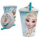 nagyker Licenc termékek: 3d 430ml üveg  szívószállal  frozen ...
