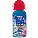 wholesale Lunchboxes & Water Bottles: Small aluminum  bottle 400ml by Pj Masks (12/36)