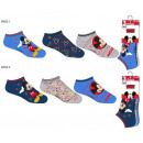 wholesale Lingerie & Underwear: Pack 3 Mickey Mouse ankle socks