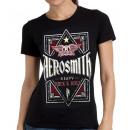 Großhandel Shirts & Tops: Erwachsener Hemd  Mädchen Aerosmith 'Heavy' der Sam