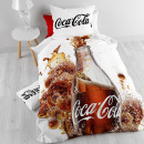 DBO LIC Coca Cola  White 140 x 200 White