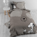 DBO LIC Snoopy Cotton 140 x 200 Gray