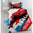 Disney Cars Lightning 140 x 200 White