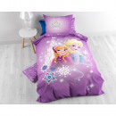 Frozen Purple Castle Purple 140 x 200 Paars