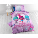 wholesale Licensed Products: Trolls True Colour  Purple 140 x 200 Purple