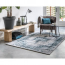 groothandel Home & Living: Vloerkleed Classic  Anthracite/Blue 75 x 150 Antrac