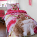 wholesale Home & Living: Twinkle Rabbit Pink 140 x 220 Pink