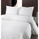 groothandel Home & Living: Bergamo White 200 x 220 Wit