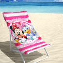 wholesale Licensed Products: BEACH Disney  Minnie and Daisy 70 x 140 Multi