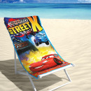 grossiste Articles sous Licence: BEACH Disney Cars  2 , rue 70 x 140 multi