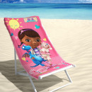 grossiste Articles sous Licence: BEACH Disney  Docteur La Peluche 70 x 140 multi