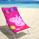 grossiste Articles sous Licence: BEACH ABD Peppa  Pig Candy 70 x 140 multi