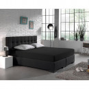 Doble Jersey 220 gr. PAQUETE recta Negro 140 x 20