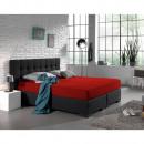 grossiste Maison et habitat: Double Jersey 220  gr. PACK Hétéro Red 190/200 x
