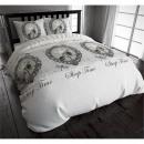 groothandel Bedtextiel & matrassen: COT Sleeptime  Vintage Grey 140 x 220 Grijs