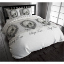 COT Sleep Time  Vintage Grey 200 x 200/220 Grey