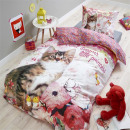 grossiste Articles sous Licence: Princess Kitty 140 x 220 Rose