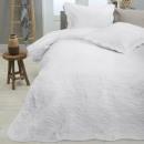 Großhandel Bettwäsche & Matratzen: Natur-Weiß 260 x 250 Weiß