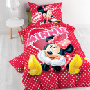 Disney CZ Minnie in Love 140 x 200 Red