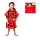 Disney Auta Poncho 60 x 120 Red