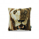 groothandel Home & Living: Lion Light Cream 45 x 45 Creme