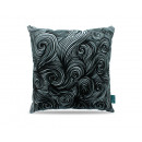 groothandel Home & Living: Dark Curls Grey 45 x 45 Grijs