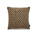 Woven Leather Brown 45 x 45 Brown