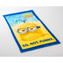 Minion So Not  Funny 70 x 140 Yellow