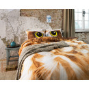 groothandel Home & Living: Owl Look Taupe 200 x 220 Taupe