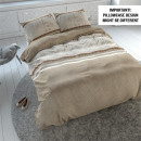 grossiste Linge de lit & Matelas: Love You TAUPE  toujours 240 x 220 Taupe