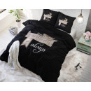 wholesale Bedlinen & Mattresses: Always My Black 140 x 220 Black