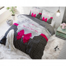 grossiste Linge de lit & Matelas: Sweet Dreams rose 200 x 220 Rose