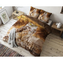 groothandel Home & Living: Autumn Owl Taupe 140 x 220 Taupe