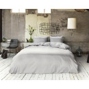 Ropa de cama hostelería gris 240 x 220 Gray