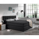 Jersey Topper Fitted Sheet Anthracite 190/200 x 20