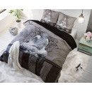 groothandel Home & Living: Buddha Love  Anthracite 160 x 200 Antraciet